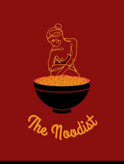 Noodist Food Truck Branding (mockup)