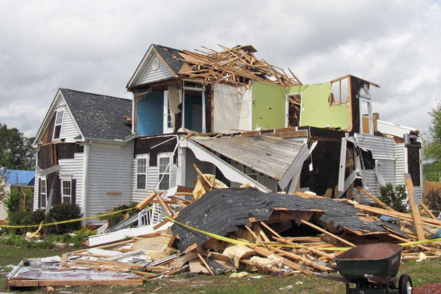 Damaged Home?