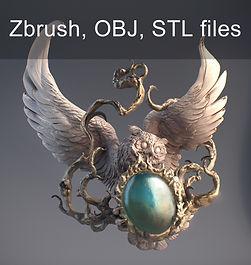 Owl Jewelry Pendant