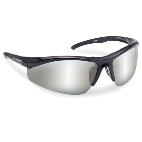 268311d83d8 Flying Fisherman Sunglasses Polaroid-Spector Black Silver Mirror