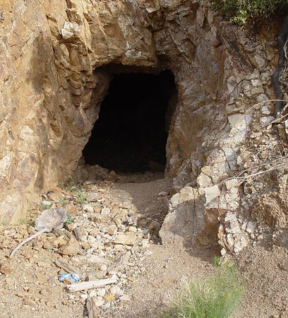 mine shaft pacer lode gold prospecting arizona mining claims