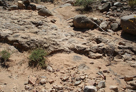 caliche gold prospecting arizona mining claims panning