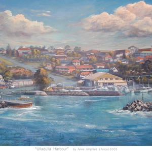 Ulladulla Harbour from North St