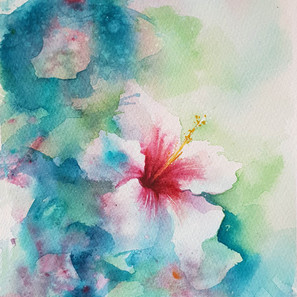 Abstract Hibiscus