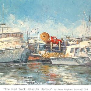 The Red Truck - Ulladulla Harbour