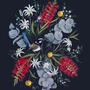 SUperb Wren in Wildflowers.jpg