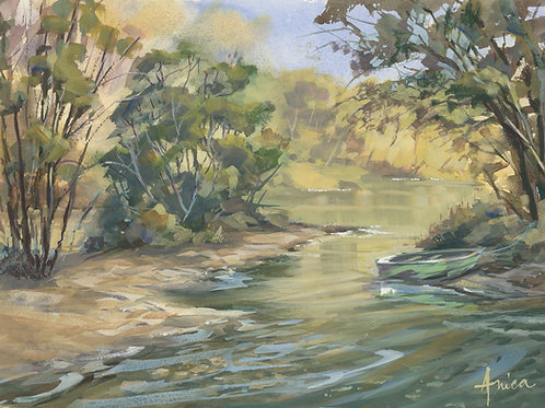 On the Lachlan River, Cowra