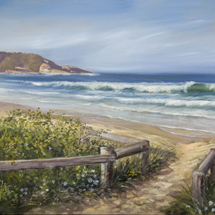 Path to Mollymook Beach