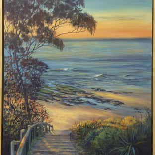 Golden Sunrise Narrawallee Beach