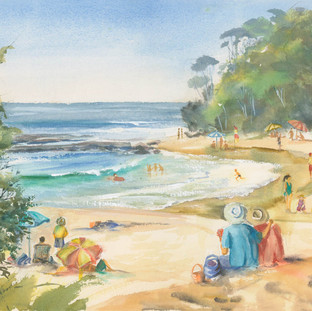 Summer's Day, Mollymook Beach