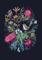 Jenni Wren in Wildflowers