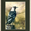 Thumbnail: Magpie on a Country Post (Framed)