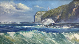 Lighthouse from Mollymook Beach