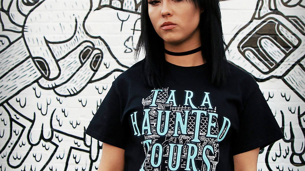 Tara Haunted Tours Logo Tee