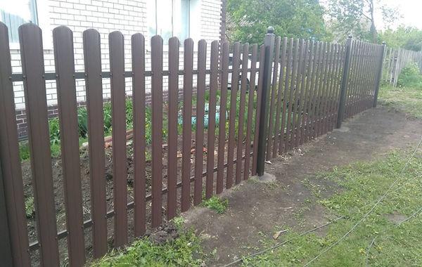 Забор из штакетника в Пензе