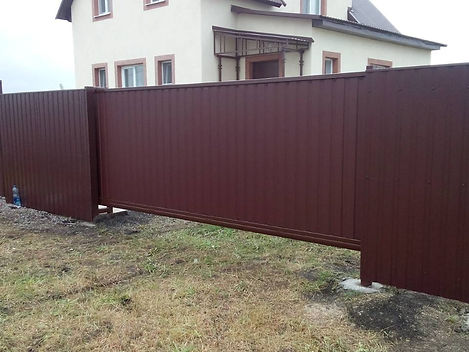 Распашные ворота в г.Пенза