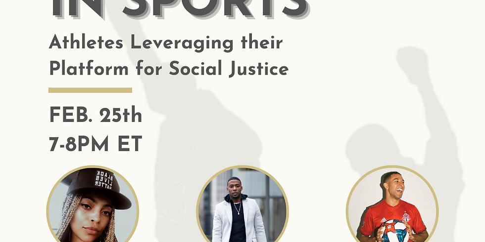 Black Activism in Sports Panel