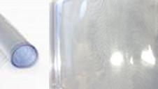 PVCポリ塩化ビニル 青味透明とは
