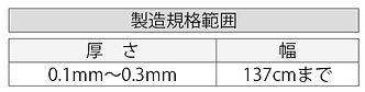 エマソフトクリーンパック製造規格範囲