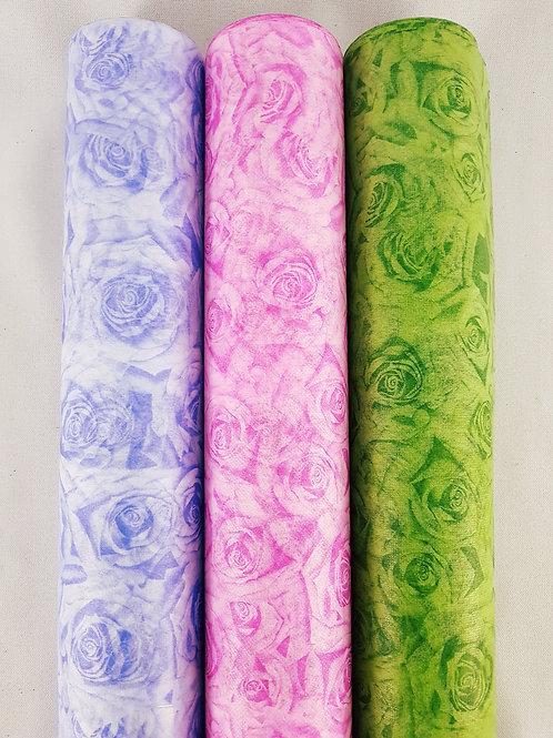Papel Coreano Rosas
