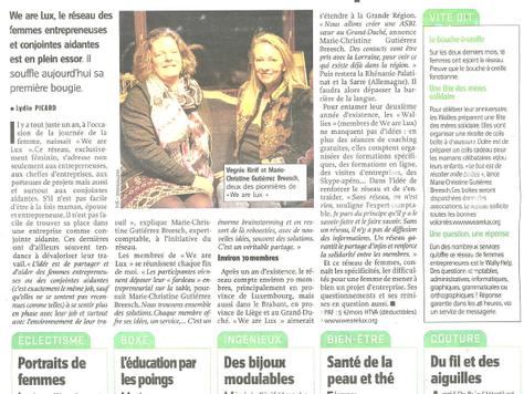 """Etre femme et entrepreneuse, """"We are Lux"""" est en plein essor"""