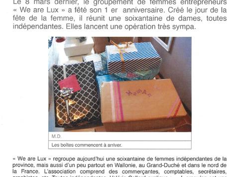 Chouette opération: préparez une boîte cadeaux à offrir à une maman battue