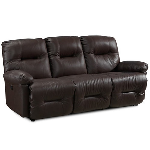 Best Zaynah Leather Sofa