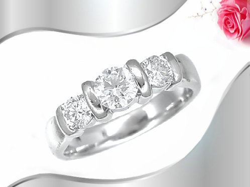 Past, Present and Future ring