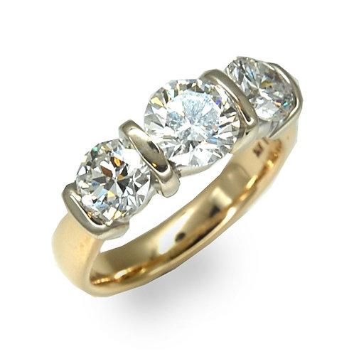 Three Stone Ring 1