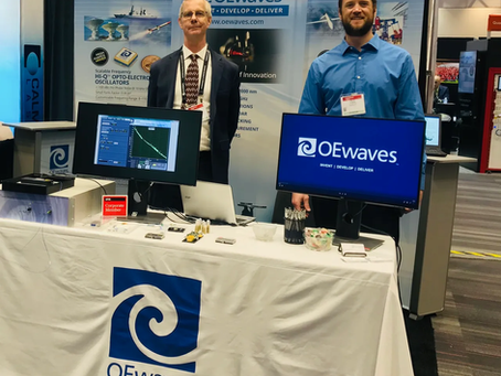 OEwaves at SPIE Photonics West 2020