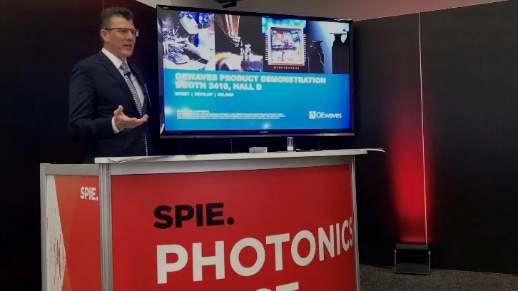CEO Skip Williams presents at SPIE Photonics West 2020.