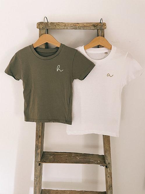 Tee-shirt - Initiale