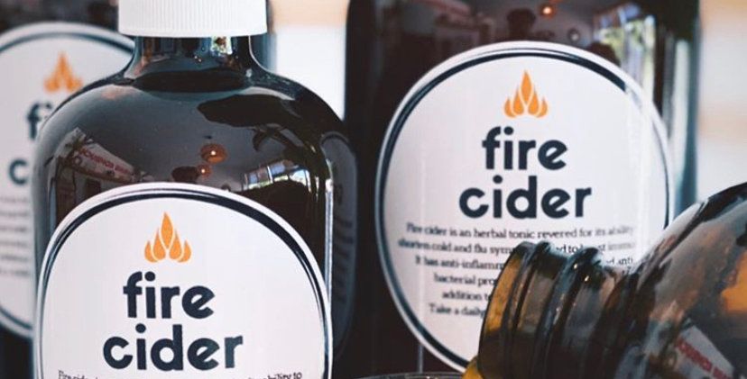 Fire Cider Herbal Tonic