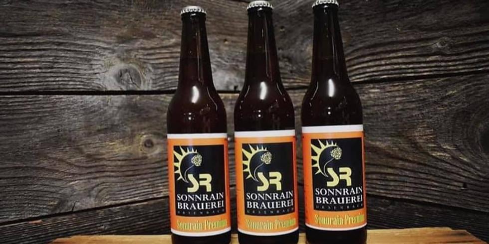 Friday Space Beer mit der Sonnrain-Brauerei
