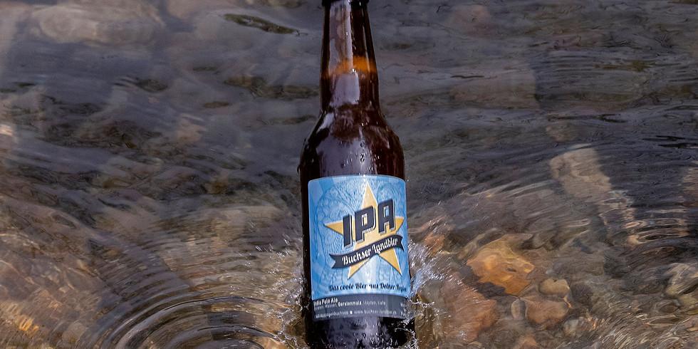 Friday Space Beer mit Buchser Landbier