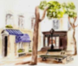 Watercolour by Serge