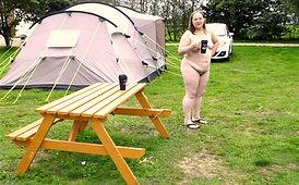 naturist camping camp site nudist accommodation also naturist spa lakeside location near skegness lincolnshire uk  lakeside farm like clover spa nudist naturist spa and  tythingbarn  Acorns Naturist Retreat or Naturist Accommodation at Pevors Farm