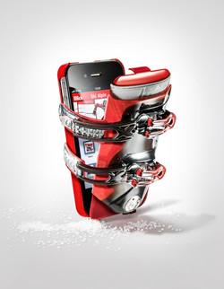 Blick Werbekampagne iPhone Ski