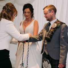 Lisa at louise wedding