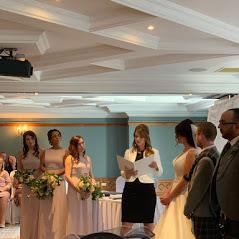 Lisa Conducting louise wedding