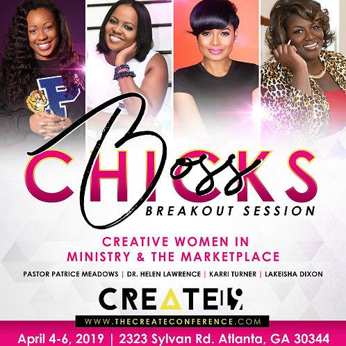 Boss Chicks: Creative Women in Ministry & Marketplace