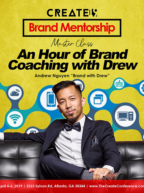 Brand Mentorship: An Hour of Brand Coaching with Drew