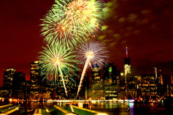 Firework Manhattan