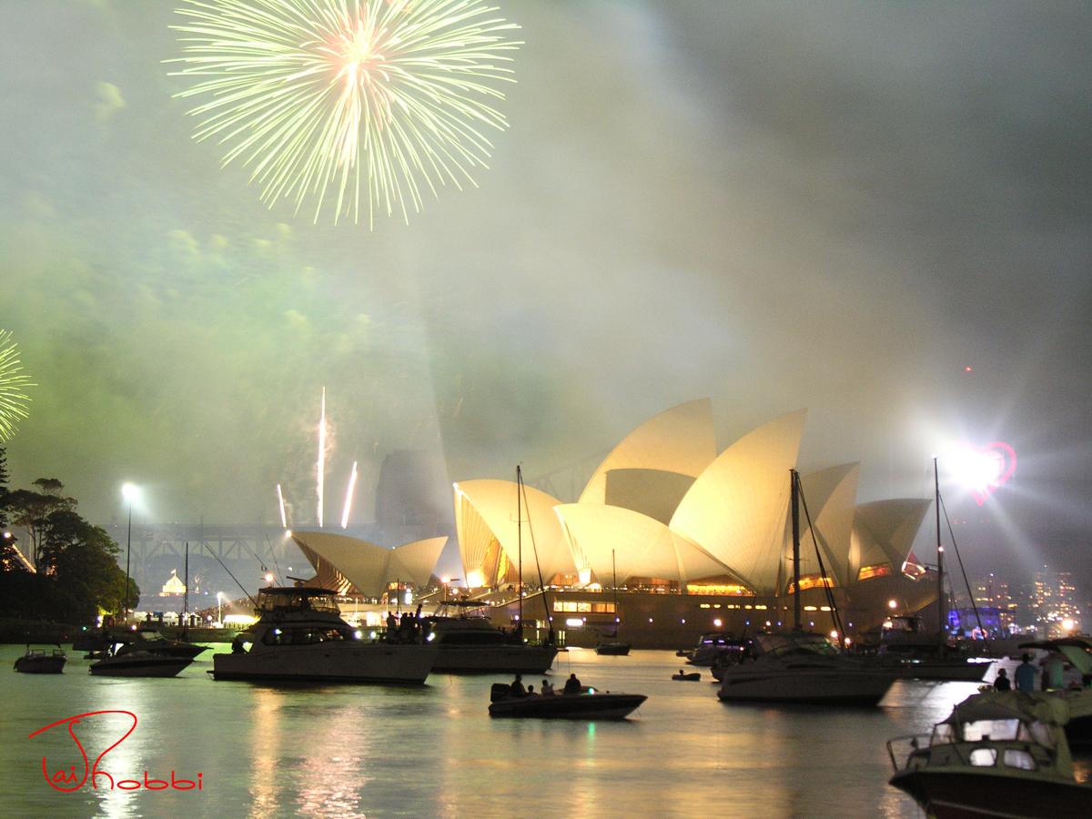 Firework Sydney Opera