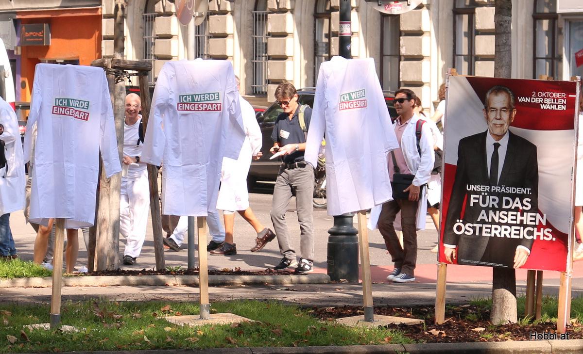 Ärzte Demo Wien