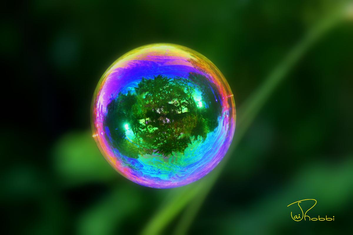 Bubble-Green Yellow