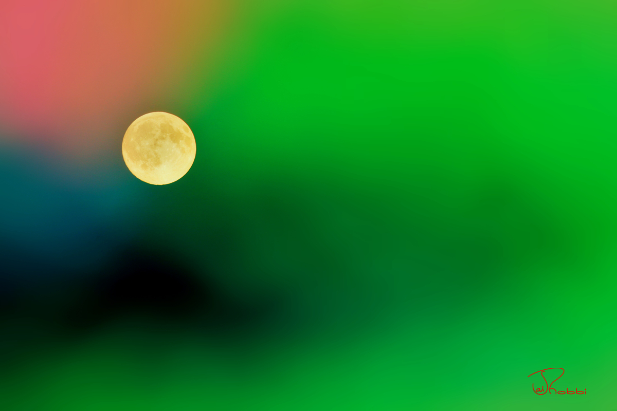 Moon and the Green