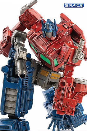 Optimus Prime DLX Scale Collectible Figure (Transformers: War For Cybertron
