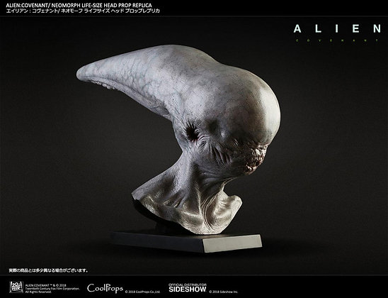 1:1 Neomorph Life-Size Head (Alien: Covenant)
