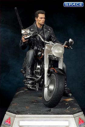T-800 on Motorcycle Statue (Terminator)